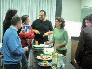 Reunión de mini-chefs
